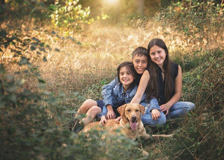 Familiefotografering - fotograf Sussi C Alminde